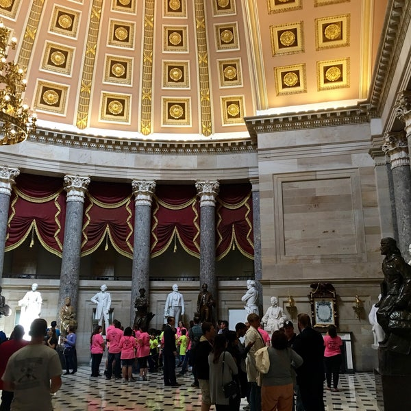 Photo taken at Rotunda of the U.S. Capitol by Bradley P. on 4/22/2016