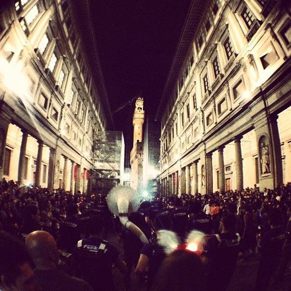 Photo taken at Uffizi Gallery by Michele S. on 4/30/2013