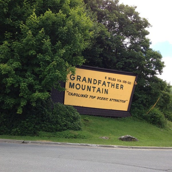 Photo taken at Grandfather Mountain by Vee B. on 7/15/2013