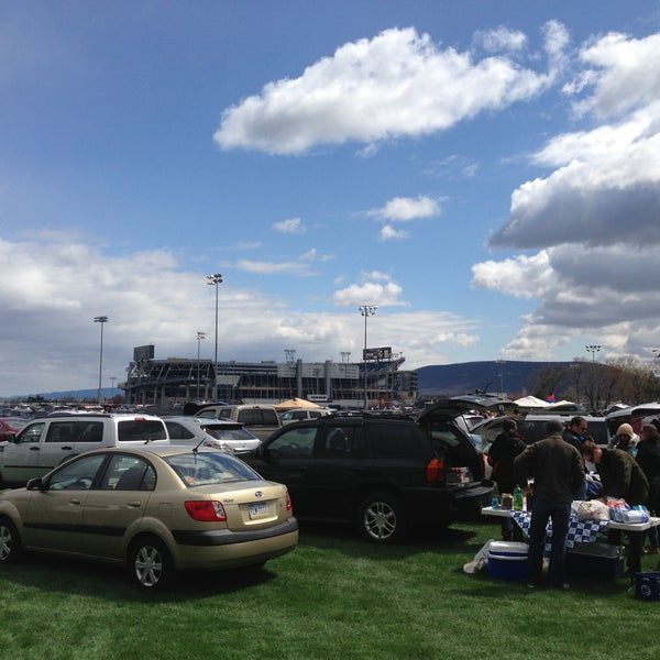 Photo taken at Beaver Stadium by Adam H. on 4/20/2013