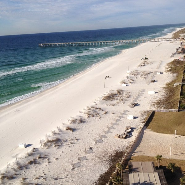 Photo taken at Hilton Pensacola Beach Gulf Front by Larry R. on 1/17/2014