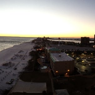 Photo taken at Hilton Pensacola Beach Gulf Front by Larry R. on 1/16/2014