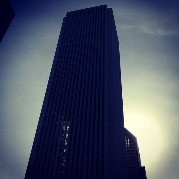 Photo taken at Aon Center by Keith B. on 7/6/2016