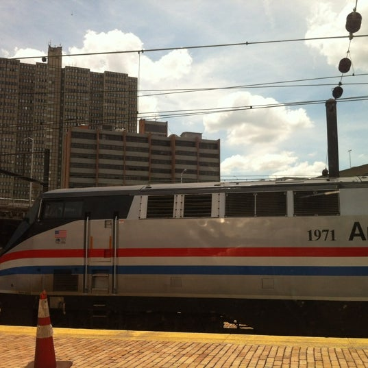 Photo taken at Amtrak: Harrisburg Transportation Center (HAR) by Brad N. on 6/14/2012