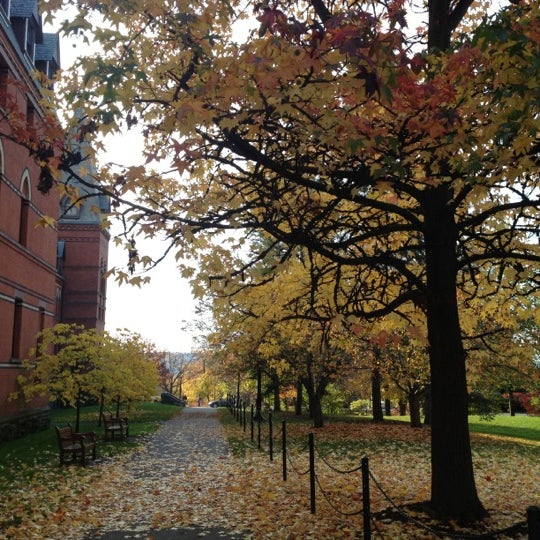 Photo taken at Cornell University by Natalie L. on 10/26/2012