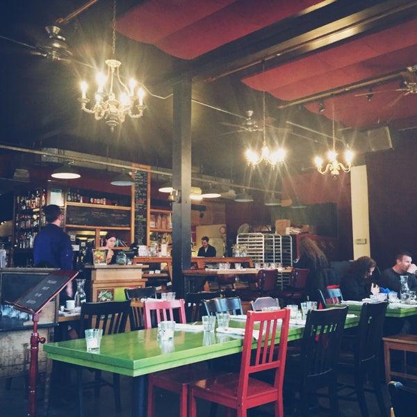 Photo taken at Louisa's Cafe & Bakery by Kate K. on 3/21/2015