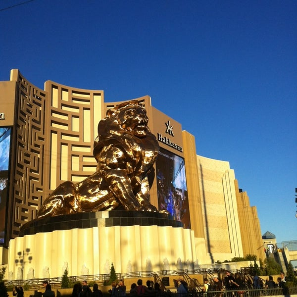 Photo taken at MGM Grand Hotel & Casino by David C. on 10/21/2013