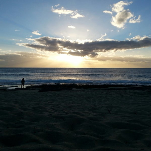 Photo taken at Maili Beach by Todd M. on 12/1/2014