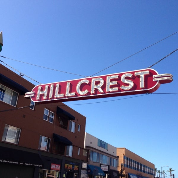 Hillcrest Sign - Hillcrest - San Diego, CA