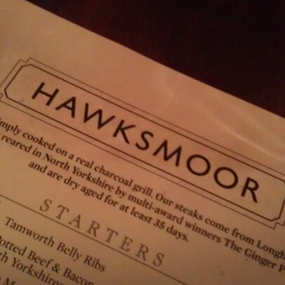 Photo taken at Hawksmoor Spitalfields by Arnold Z. on 11/25/2012