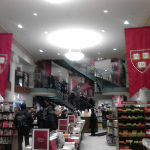 Photo taken at Harvard Coop Society Bookstore by Jerome I. on 2/17/2014