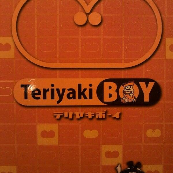 Photo taken at Teriyaki Boy by Izza Frances Mae J. on 10/5/2013