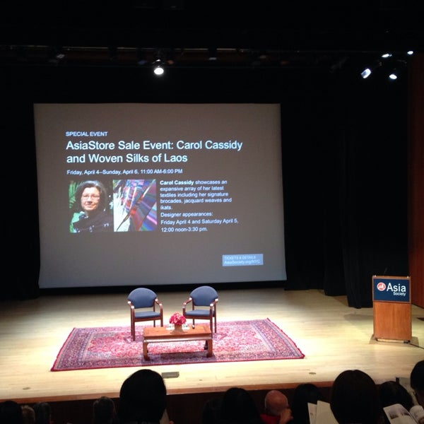 Photo taken at Asia Society New York by Zaw T. on 3/6/2014