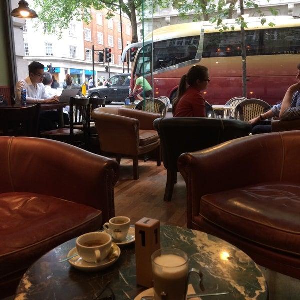 Photo taken at Caffè Nero by manoela on 6/25/2014