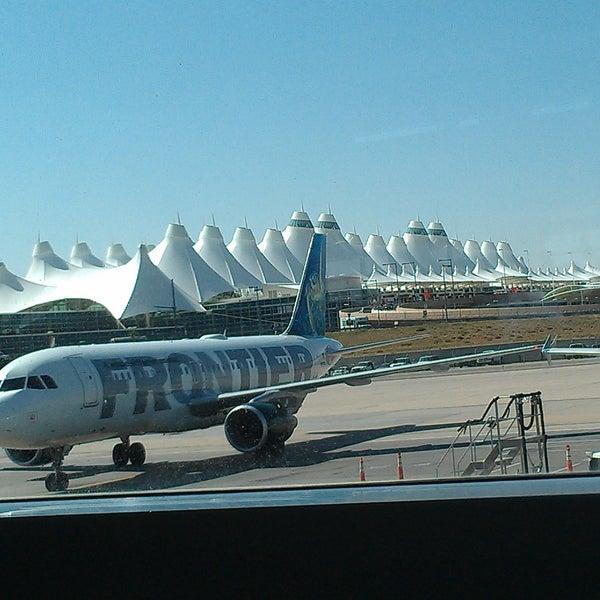Denver United Terminal: Official Frontier Airlines Terminal-DEN