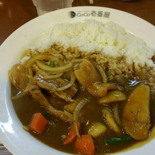 Photo taken at CoCo壱番屋 渋谷区宇田川町店 by Kouju T. on 3/28/2016