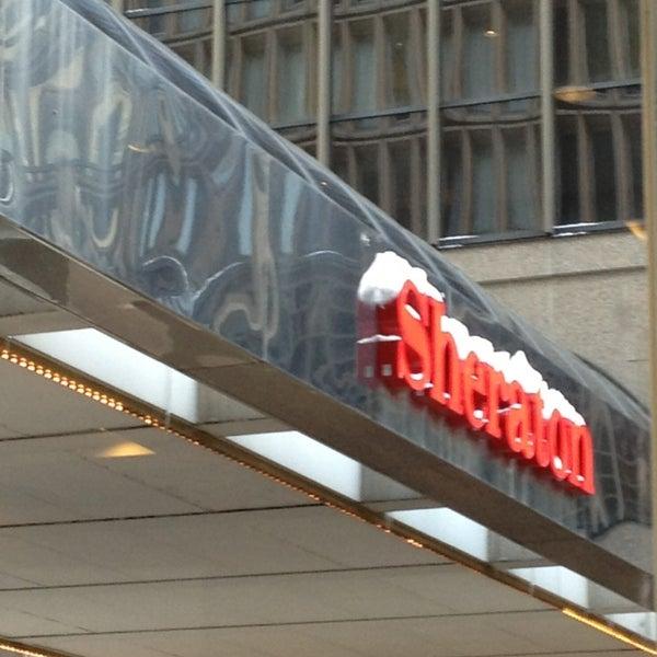 Photo taken at Sheraton Denver Downtown Hotel by Karen G. on 2/22/2013
