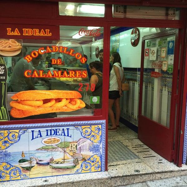 Photo taken at Bar La Ideal by Jose Luis P. on 8/22/2015