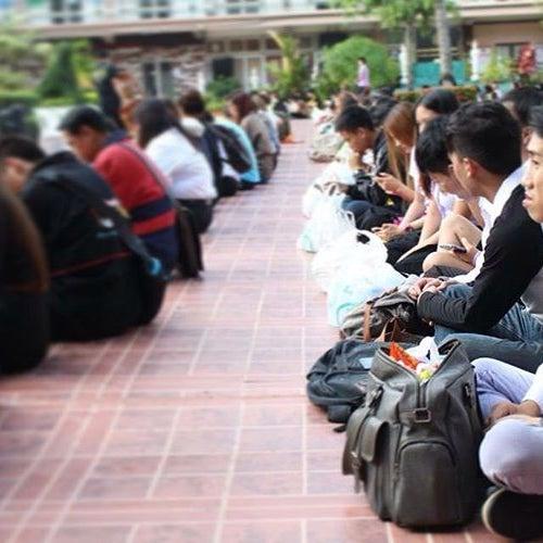 Photo taken at Chiang Mai Rajabhat University by Bankgamo.th S. on 8/22/2016