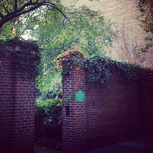 Photo taken at The Garden at St. Luke in the Fields by Anthony L. on 10/21/2012