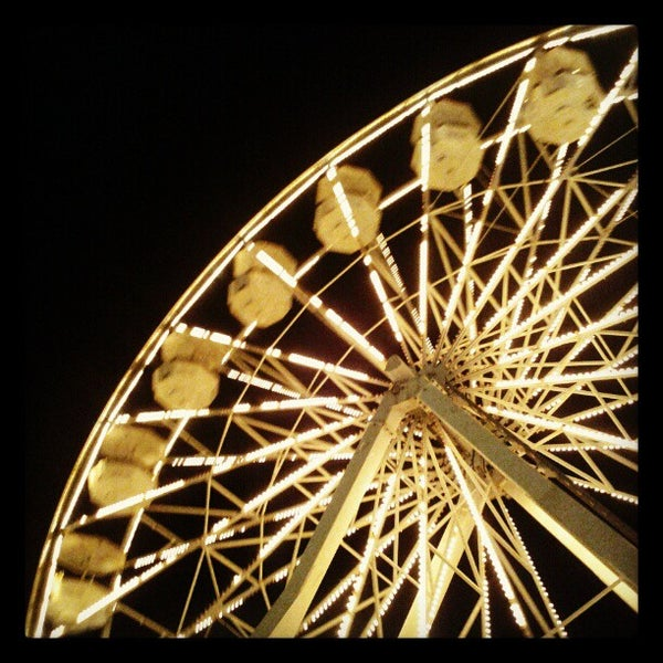 Photo taken at Ferris Wheel At The Pike by Angela D. on 2/17/2013