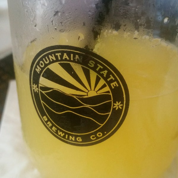Photo taken at Mountain State Brewing Co. by Stephen B. on 8/19/2016