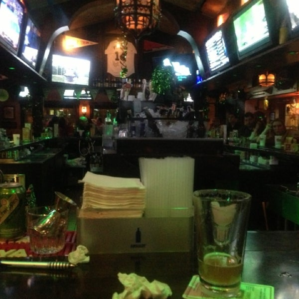 Photo taken at Finn McCool's Irish Sports Pub by Ananth K. on 3/14/2013
