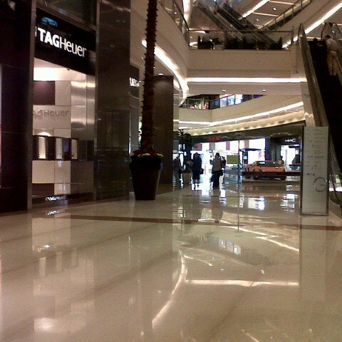 Photo taken at Pacific Place by Icha L. on 4/16/2014