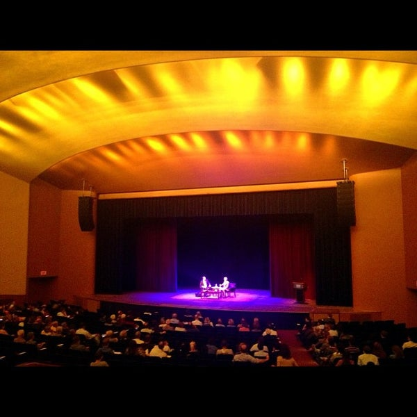 Photo taken at Lisner Auditorium by Nikhil on 9/21/2012