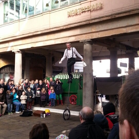 Photo taken at Covent Garden Market by Huikyung J. on 3/1/2014