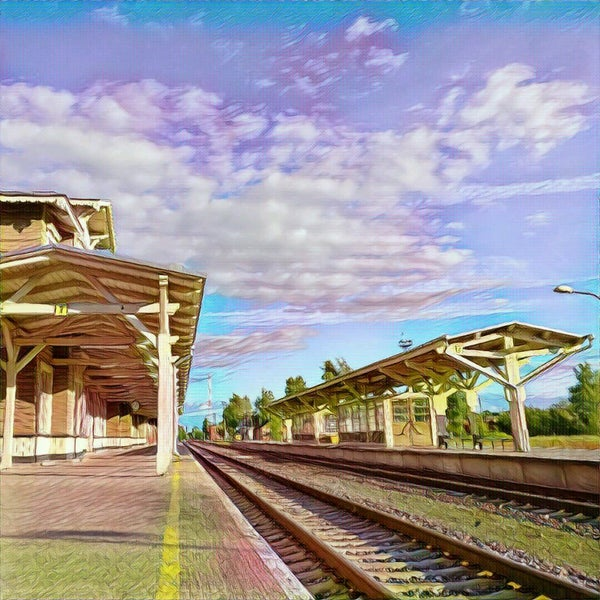 Photo taken at Tartu Raudteejaam by Rauno R. on 8/31/2016