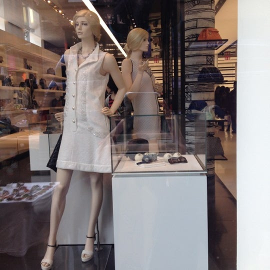 Photo taken at CHANEL Boutique by Maruko on 5/5/2012