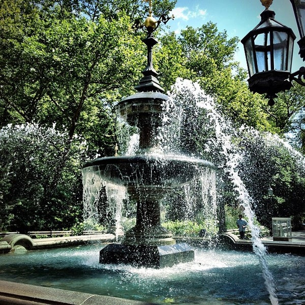 Photo taken at City Hall Park by Harry B. on 6/28/2012
