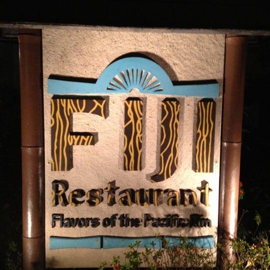 Photo taken at Fiji Restaurant by emman r. on 4/8/2012