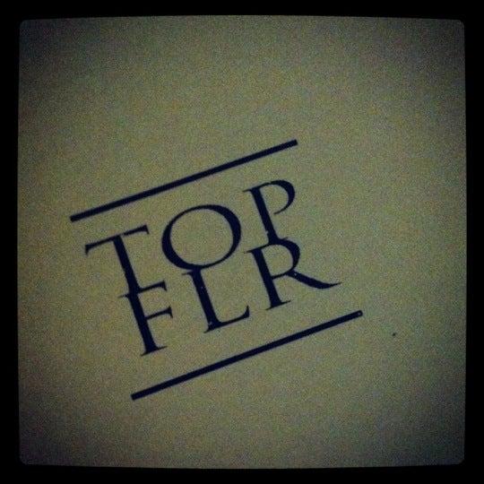 Photo taken at Top Flr by Sheena H. on 5/28/2012