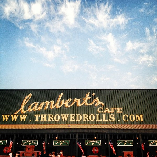 Photo taken at Lambert's Cafe by Caleb B. on 5/28/2012