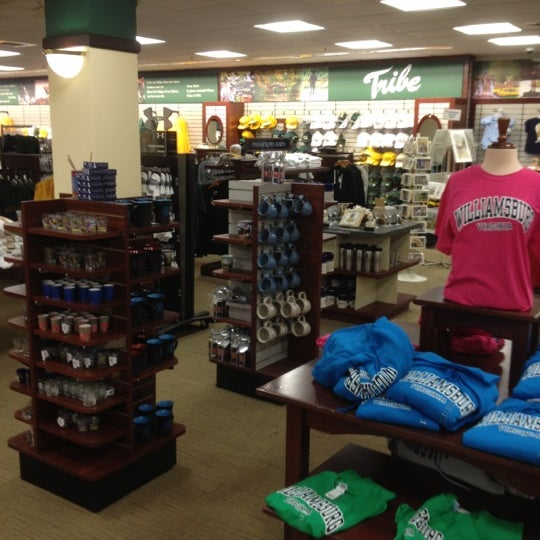 Photo taken at College of William & Mary Bookstore by Joe K. on 4/19/2012