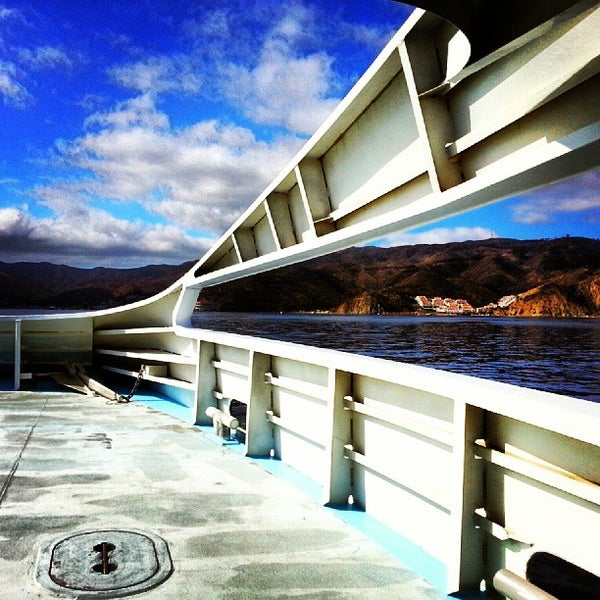 Photo taken at Santa Catalina Island by Brady S. on 10/8/2013