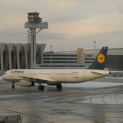 Photo taken at Gate A25 by Javier S. on 12/11/2012