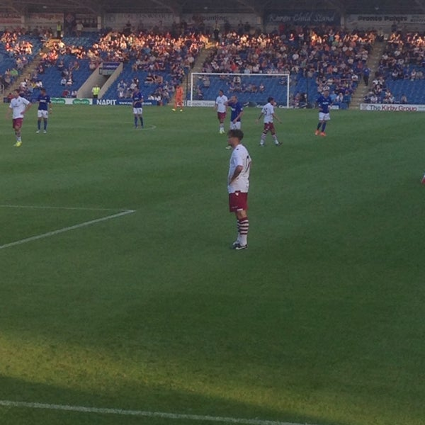 Photo taken at The Proact Stadium by Gordon D. on 7/30/2014