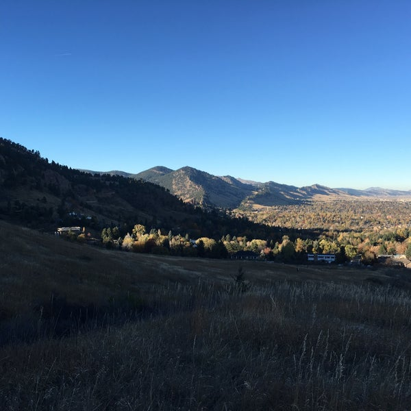 Photo taken at Colorado Chautauqua National Historic Landmark by Jason D. on 11/7/2015