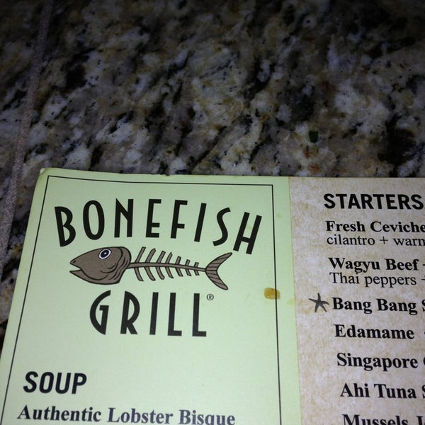 Nov 29, · Bonefish Grill, Wilmington: See unbiased reviews of Bonefish Grill, rated 4 of 5 on TripAdvisor and ranked #8 of restaurants in Wilmington.