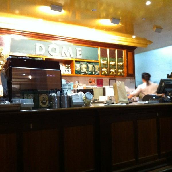 Photo taken at Dôme Café by Jen T. on 1/9/2013