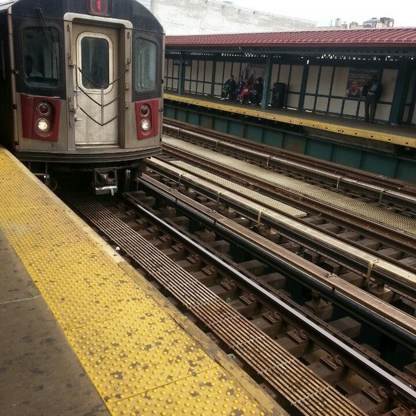 Photo taken at MTA Subway - Fordham Rd (4) by Milton F. on 4/14/2014