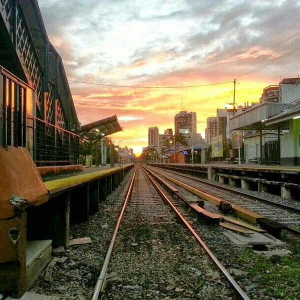 Photo taken at Estación Caballito [Línea Sarmiento] by Diego N. on 5/4/2014