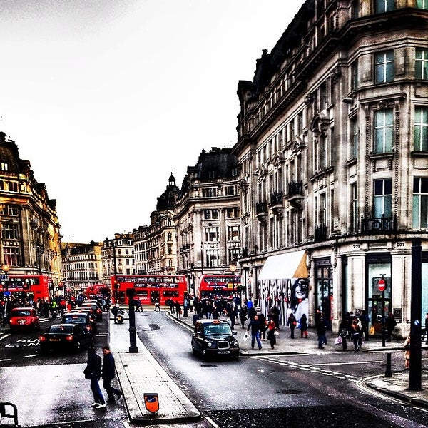 Photo taken at Oxford Street by Aaref A. on 3/9/2014