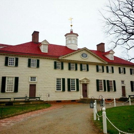 Photo taken at George Washington's Mount Vernon Estate, Museum & Gardens by Keith A. on 12/17/2012