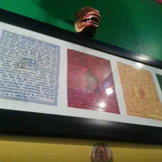 Photo taken at Cafe Tibet by Marina K. on 2/25/2013