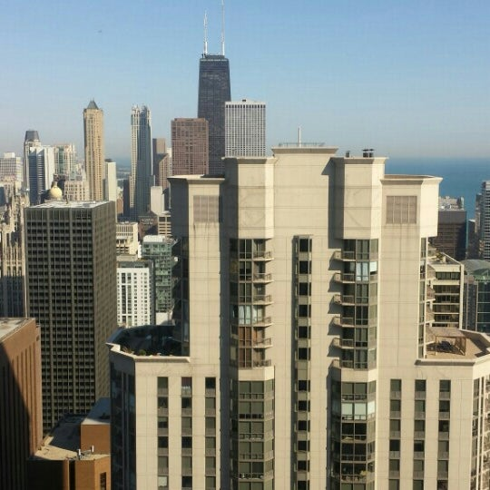 Photo taken at Aon Center by Theo A. on 9/16/2015