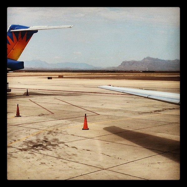 Photo taken at Phoenix-Mesa Gateway Airport (AZA) by Aunt B. on 7/5/2013